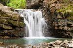 Манявський Скит та Манявський водоспад2
